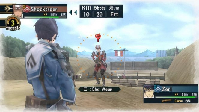 Valkyria Chronicles 2 - PSP password e trucchi videogame