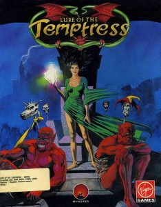 Lure of the Temptress - Amiga password