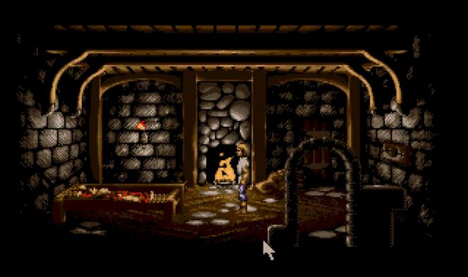 Lure of the Temptress - Amiga password videogame