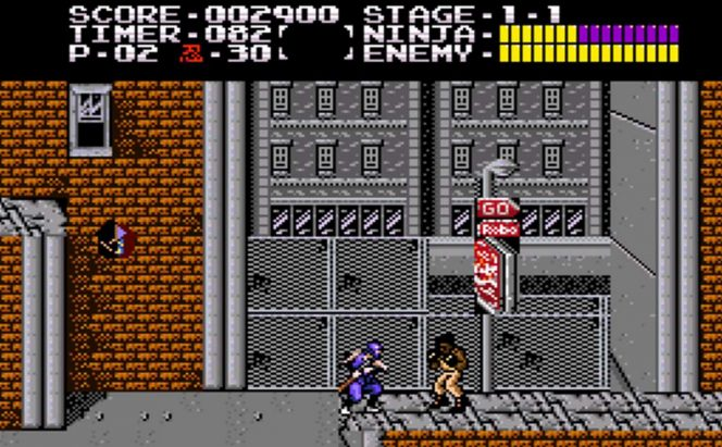 Ninja Gaiden Trilogy - SNES password videogame