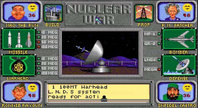 Nuclear War - Amiga trucchi e codici videogame