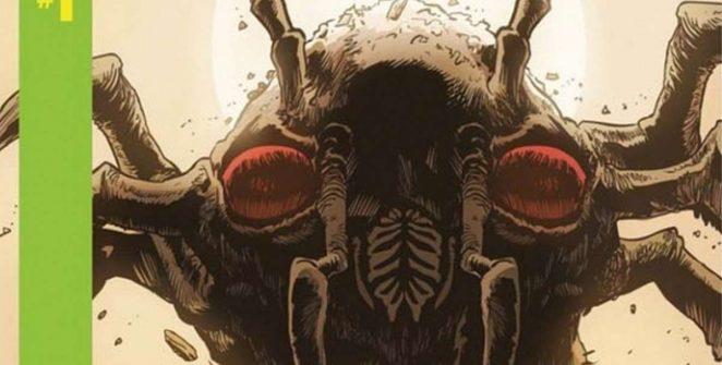 Centipede, il videogame Atari diventa fumetto