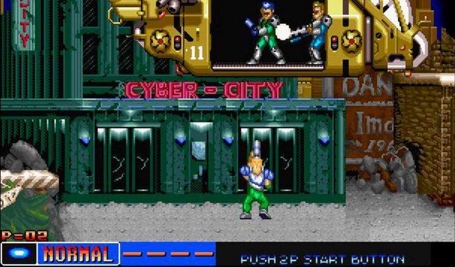 Cyber-Lip - Neo Geo trucchi videogame