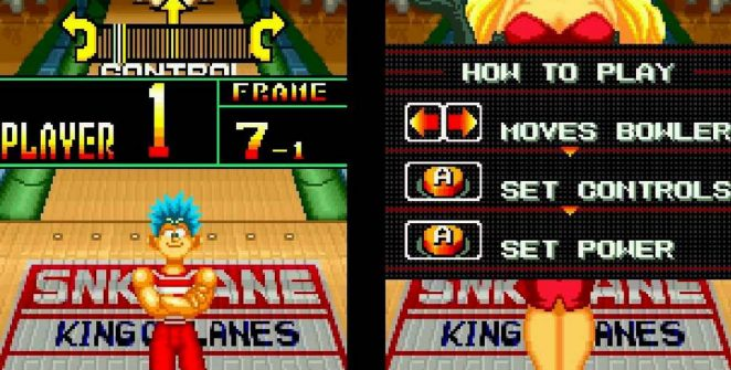 League Bowling - Neo Geo trucchi videogame