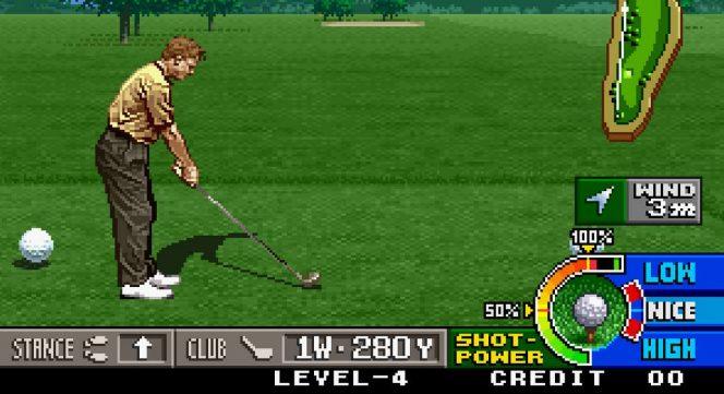 Neo Turf Masters - Neo Geo trucchi videogame