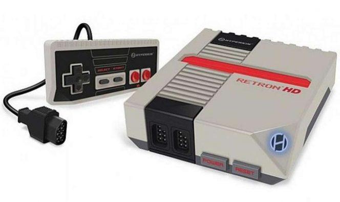 RetroN HD, la console compatibile con cart NES