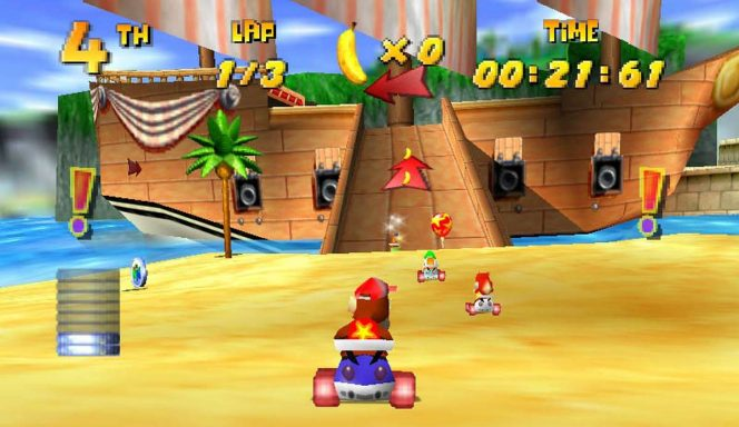 Diddy Kong Racing - N64 trucchi e password videogame