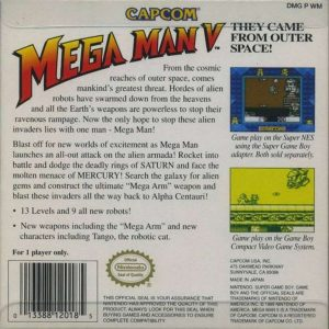 Mega Man V - Game Boy trucchi e password