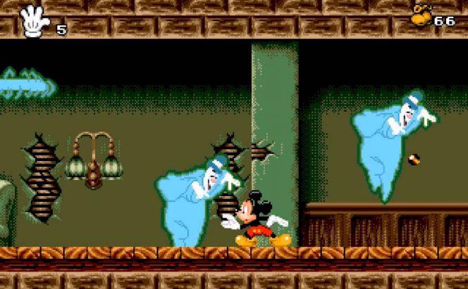 Mickey Mania - Mega Drive trucchi videogame