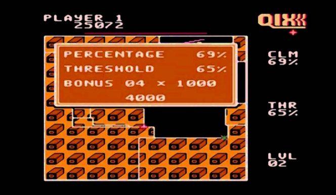 Qix - NES trucchi e codici videogame