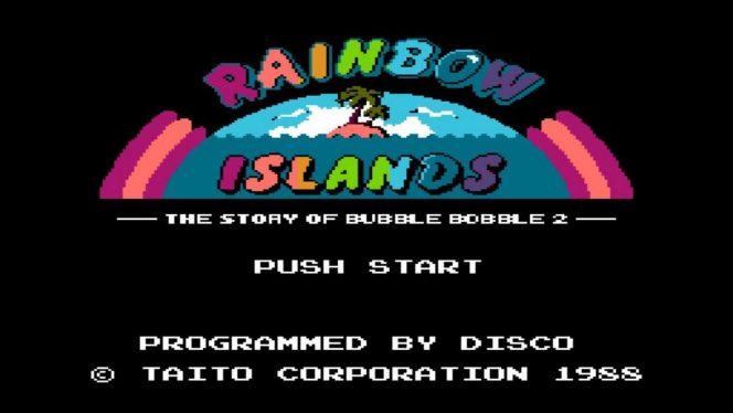 Rainbow Islands - NES trucchi e codici videogame