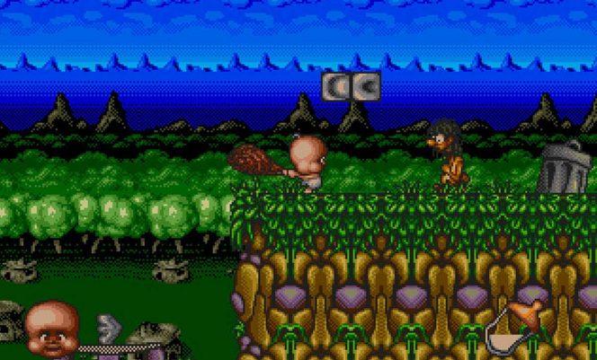 Chuck Rock II Son of Chuck - Mega Drive trucchi videogame