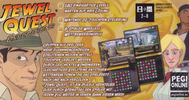 Jewel Quest Expeditions - DS trucchi e codici videogame