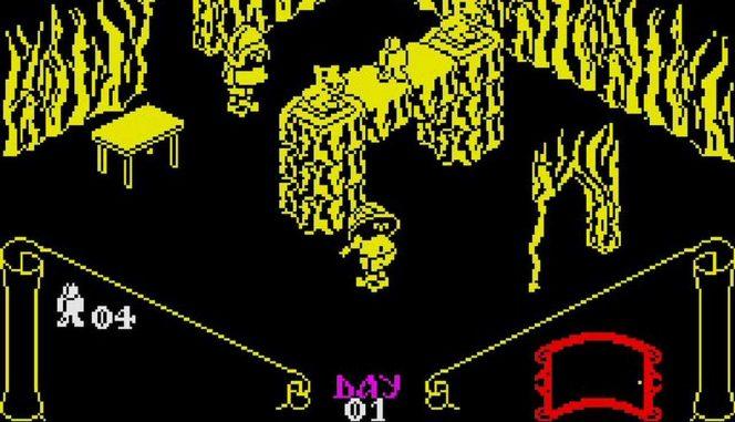 Knight Lore - ZX Spectrum trucchi e codici videogame
