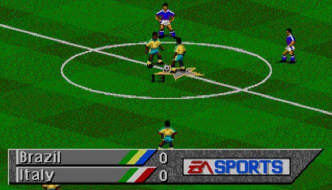 FIFA Soccer 95 - Mega Drive trucchi videogame