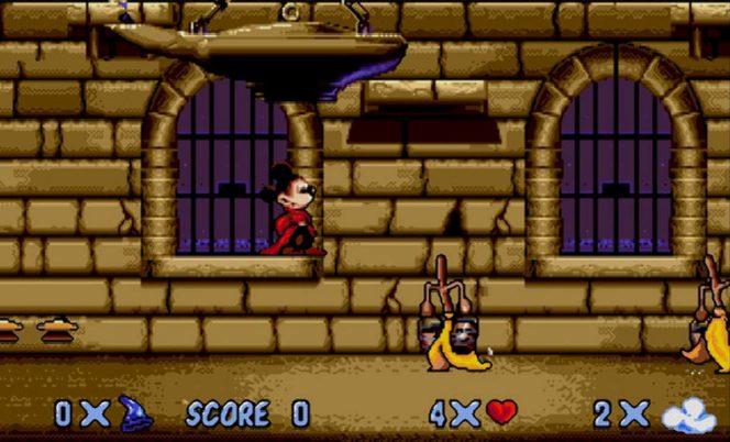 Fantasia - Mega Drive trucchi e codici videogame
