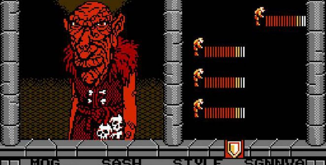 Swords and Serpents - NES password e trucchi videogame