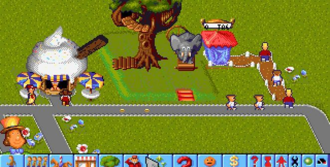 Theme Park - Mega Drive password videogame