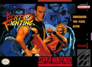 Art of Fighting - SNES trucchi