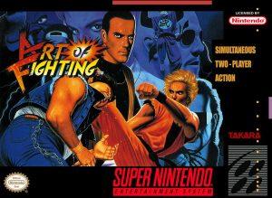 Art of Fighting - SNES trucchi