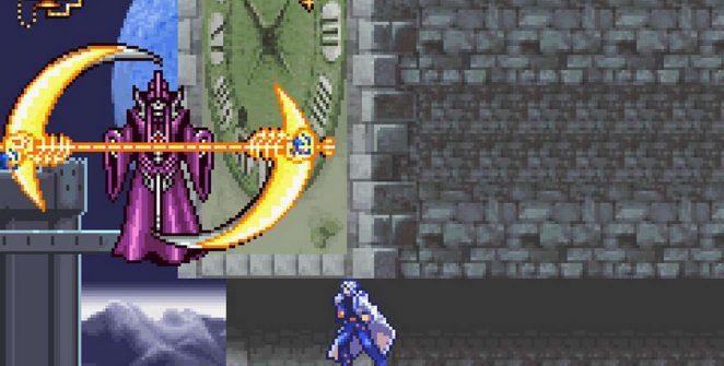 Castlevania Aria of Sorrow - GBA password videogame
