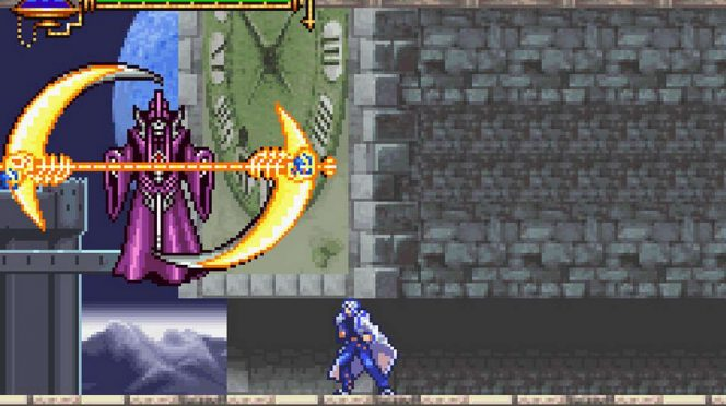 Castlevania Aria of Sorrow - GBA password videogame
