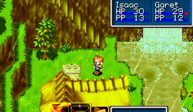 Golden Sun Game Boy Advance trucchi videogame