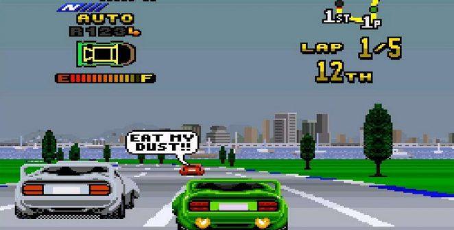 Top Gear 2 - SNES password videogame
