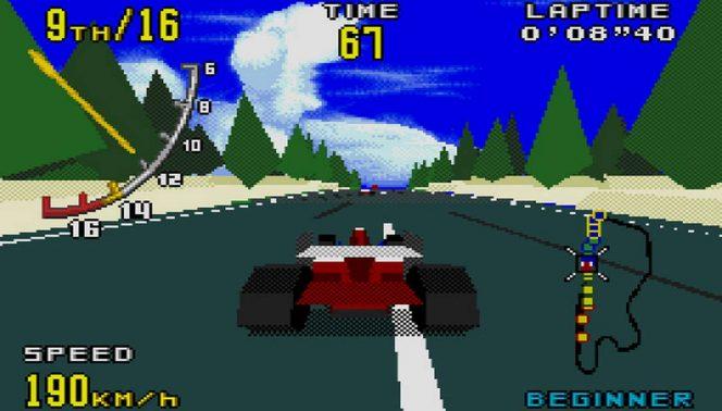 Virtua Racing - Mega Drive trucchi videogame