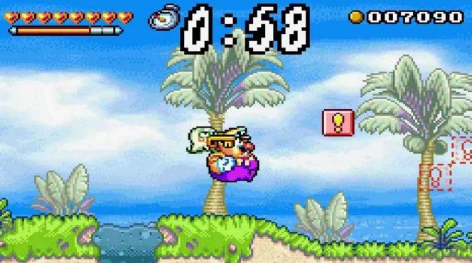 Wario Land 4 - GBA trucchi e codici videogame