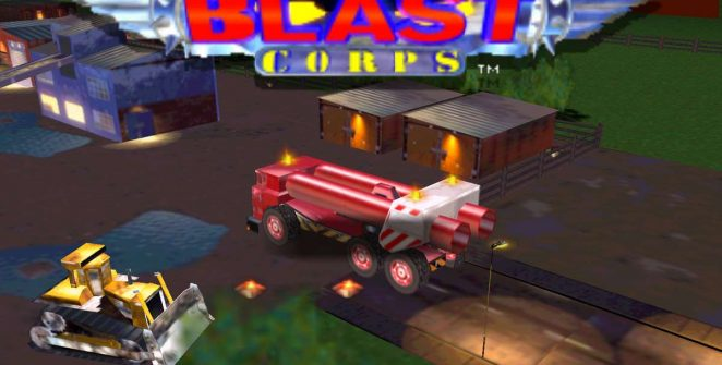 Blast Corps - Nintendo 64 trucchi videogame