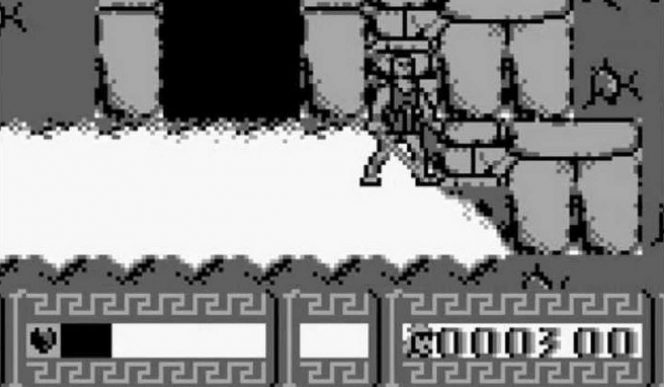 Disney's Hercules - Game Boy password videogame