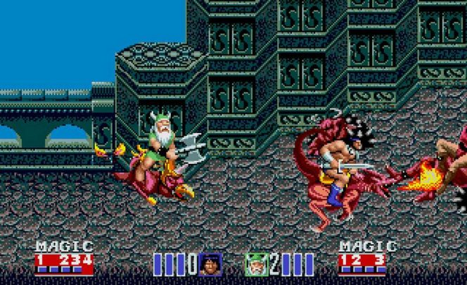 Golden Axe II - Mega Drive trucchi videogame