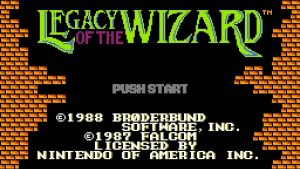 Legacy of the Wizard - NES trucchi