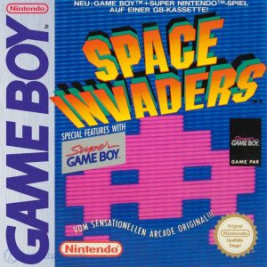 Space Invaders - Game Boy password