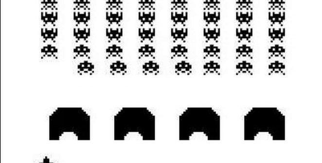 Space Invaders - Game Boy password videogame