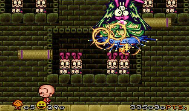 Super Bonk - SNES codici videogame