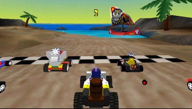 LEGO Racers - N64 trucchi e codici videogame