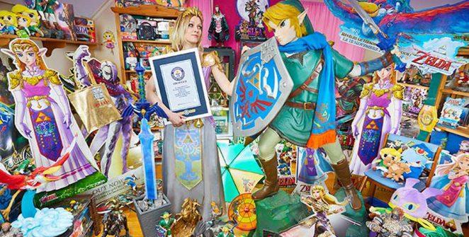 La più grande collezione al mondo di Zelda è di una ragazza norvegese