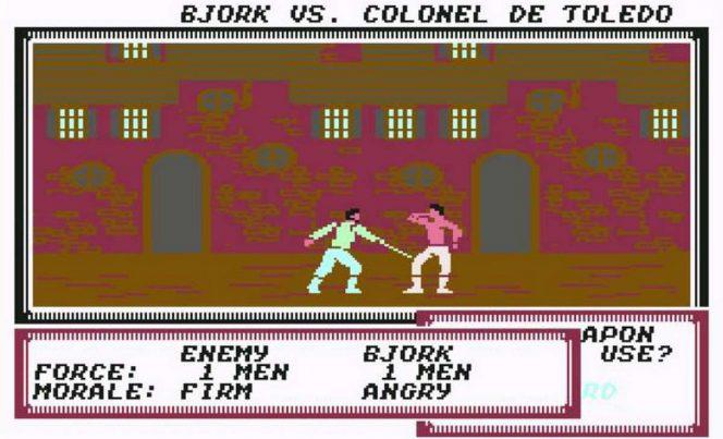 Pirates! - Commodore 64 trucchi e codici videogame