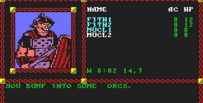 Pool of Radiance - C64 trucchi videogame