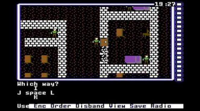 Wasteland - Commodore 64 trucchi e codici videogame