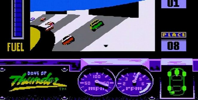 Days of Thunder - NES trucchi videogame