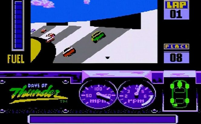Days of Thunder - NES trucchi videogame