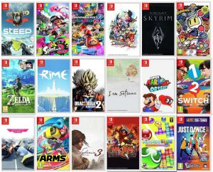 I 10 migliori giochi per Nintendo Switch lista