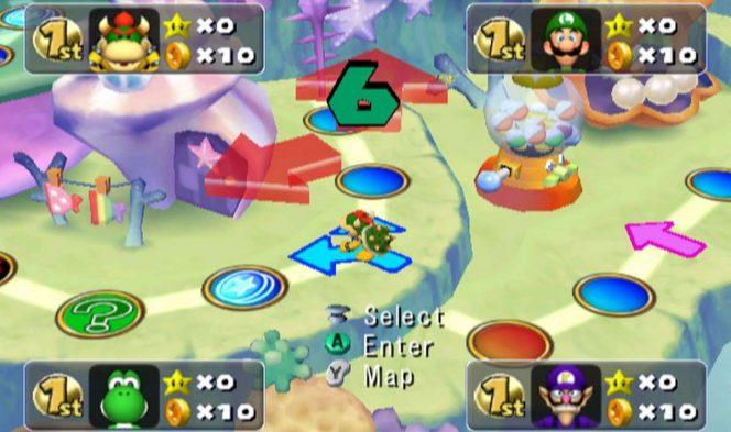 Mario Party 5 - GameCube trucchi videogame