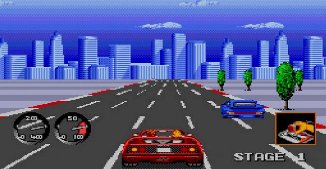Turbo Out Run - Mega Drive trucchi videogame