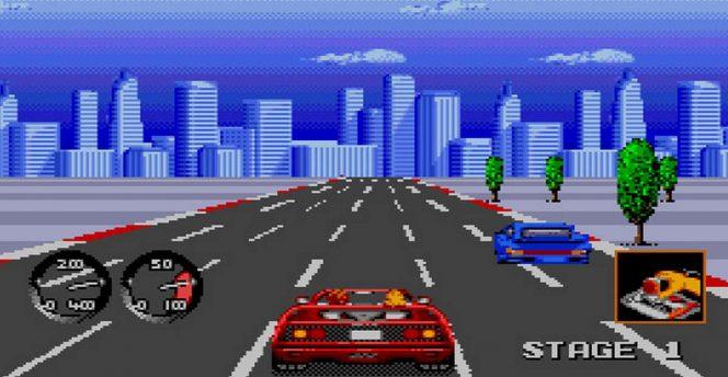 Turbo Out Run - Mega Drive trucchi videogame
