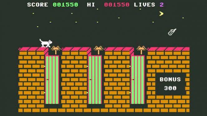 Alley Cat - C64 trucchi e codici videogame
