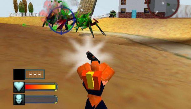 Body Harvest - N64 trucchi e codici videogame